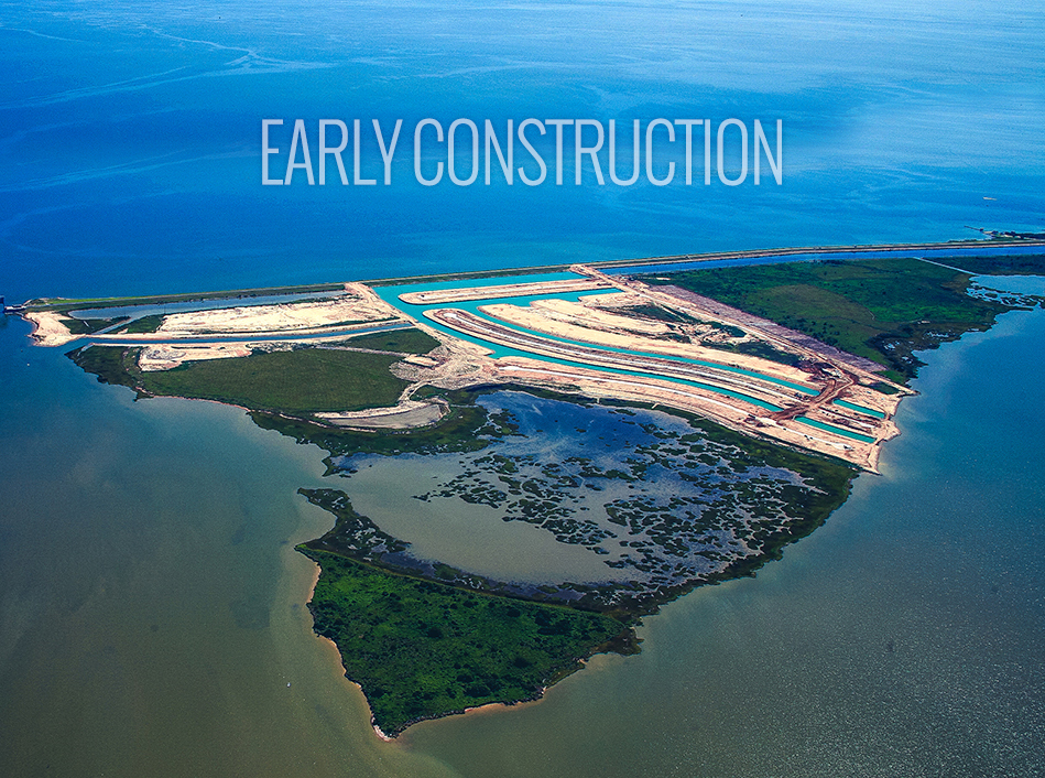 Grand Cay Early Construction